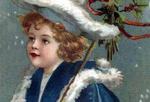 christmas girl postcards / by Shelly Krueger