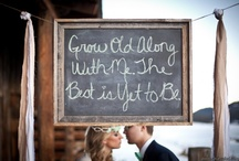 Dream wedding stuff  / by Angie Lomax