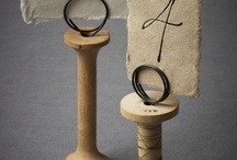 Wood Thread Spools / by Cathie Hollins