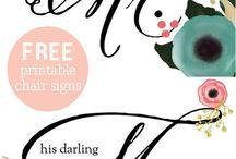 free printable / by andre cutillas