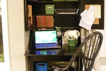 Operation: Organize desk area at school! / by Sarah Crumrine