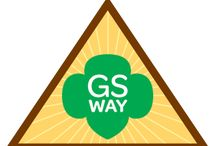 Brownies - (Legacy) Girl Scout Way / Requirements for Brownie Girl Scout Way Badge-- Step 1: Sing everywhere. Sep 2: Celebrate Juliette Low's birthday. Step 3: Share sisterhood. Step 4: Leave a place better than you found it. Step 5: Enjoy Girl Scout traditions. / by Girl Scouts SU24
