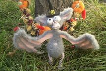 Bat for Halloween crochet pattern / Bat for Helloween crochet pattern by Galina Astashova for LittleOwlsHut. / by LittleOwlsHut