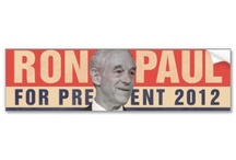 Ron Paul Bumper stickers / My favorite Ron Paul car bumperstickers / by Republican 2012