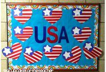 school.bulletinboards.election/patriotic / by Tara Renee Sumner