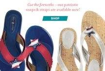 Red, White & Blue / by Lindsay Phillips Switchflops