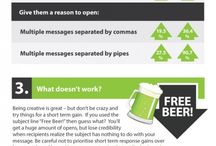 email marketing infographics / simple ways to improve email marketing / by alexandrapatrick