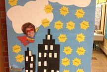 Superhero School Theme / by Michelle Ayala