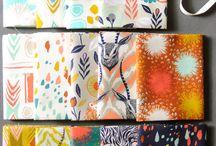 Fabrics / by Sydney Stewart