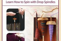 Yarn it up! / How to's for drop spindle, spinning wheel, how to dye roving/yarn, how to card, and other yarn making how to's. / by Cara Mc