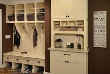 Home: entry / Entry, organization, cubbies, storage, foyer / by Pam Good