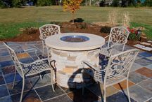 Fire Pits / Stucco and Stone fire pits / by Best in Backyards