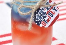 4th of July Party Ideas / Be true to the Red, White & Blue with recipes & party ideas to bring out our patriotic spirit!  / by Kathi Atwell