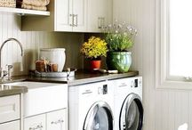 Laundry room / by walkingclosetssecret