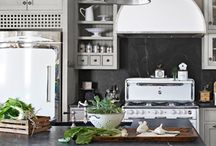 Kitchens of all size and design / Places to create culinary delights and wonderful memories / by Nancy James