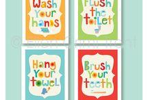 Kids' Bathroom ideas / by Amanda Hoffman