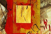 Collage/Art - Non-Representational / by Liz Zimbelman