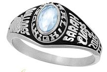 Class Rings for Girls / Our collection of girls' class rings range from traditional to trendy. / by Joy Jewelers