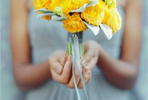 WEDDINGS in Sunshine Yellow / by Andrea Bell {tapestri}