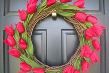 Ideas-Wreaths / by Gina Gobble