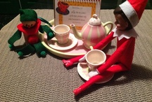 Our Elf on the shelf - Miss Chief / Holiday tradition with our Elf on the Shelf, Miss Chief short for Mischievous :)  / by Tara Jones