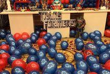 Transformers party / by Alejandra Ci