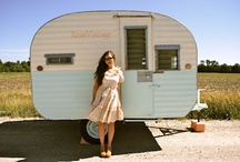 Vintage Mobile  / Vintage trailers and mobile homes / by barbara marcorelle