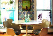 original dining rooms / by Genie Norris of ColorGenie