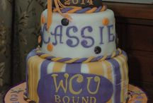 Graduation Cakes / These are the cakes I have created for graduation parties. / by Frances Gill