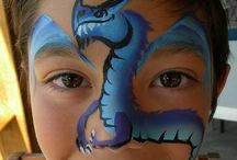 face painting / by Elizabeth Bell