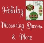 Christmas and Holiday Measuring Spoons and more / Find wonderful Christmas and Holiday Measuring Spoons at Hearts Desire Gifts.  We carry the full line of Ganz measuring spoons and cups gift products.  / by Hearts Desire Gifts