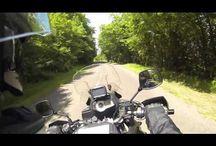 Virées Moto / Principalement tirées de mes virées avec mon pote André, filmeur compulsif avec Go-Pro ventousée au casque! / by LewisW
