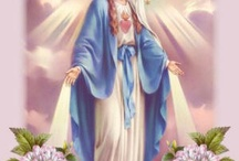 Images of the Blessed Virgin Mary / by Maria Cecilia Ignacio