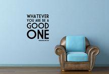 Wall Art Ideas / by Tressa Hopkinson