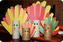 Thanksgiving--turkeys / by Jeanne Nordquist
