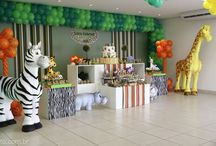 Safari Kids Party Ideas / Will's Birthday decorating ideas / by Jennifer Arnold,