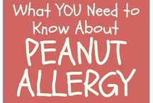 Peanut allergy / by Sarah
