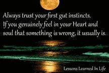 Lessons learn in life / by Chad Garnier