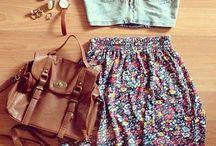 Outfits / by Skylah Diaz