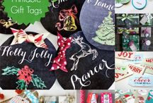 gift tags / by Sue Buth