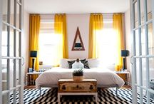 Interiors // Bedrooms / by Kate Myhre // Modernly Wed