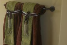 Decorative towels and linens / by Debbie Jenise