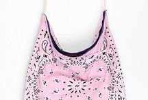 Bandana tote bag / by Debby Morgan