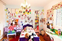 Kids Bedrooms / Cool, Pretty, and/or Fun girls and Boys Bedrooms / by mommy is coocoo