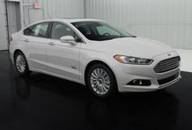 Ford Fusion / 2013 Ford Fusion Energi Titanium  / by Long McArthur
