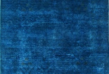 Singing the Blues  / All things beautiful and blue.  Navy, royal, and light blues are calming and cool for any room! / by Rugs USA