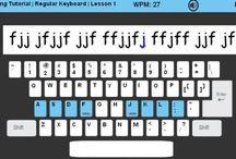 typing / by Erin El