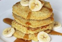Quinoa pancake recipes / by Hannah Victoria