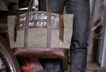 bags for men / by Jörg Kremer