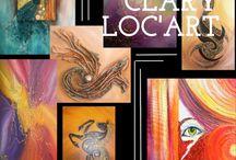 Art Portfolio - Clary / by Madmagz
